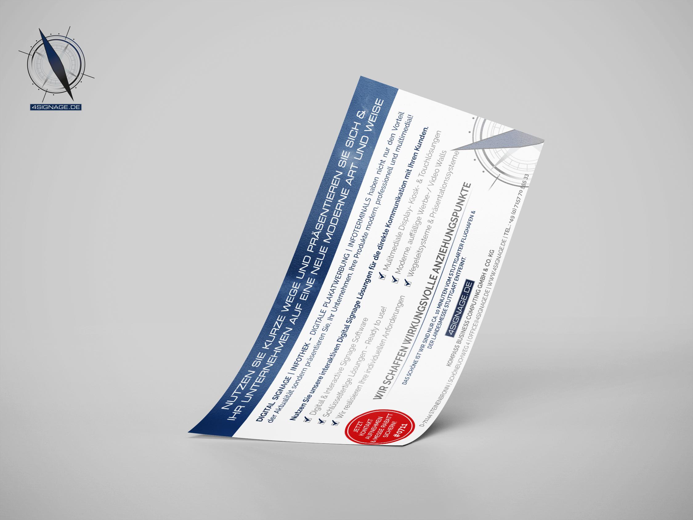 Flyer für Ihre Zwecke